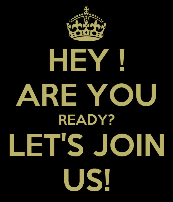 Kinder Garden: HEY ! ARE YOU READY? LET'S JOIN US! Poster
