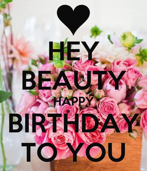 happy birthday beautician