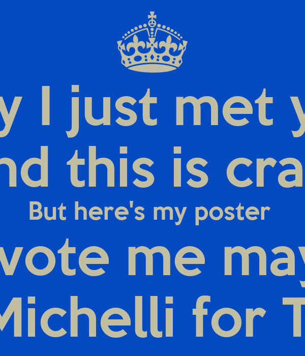 treasurer campaign posters | just b.CAUSE