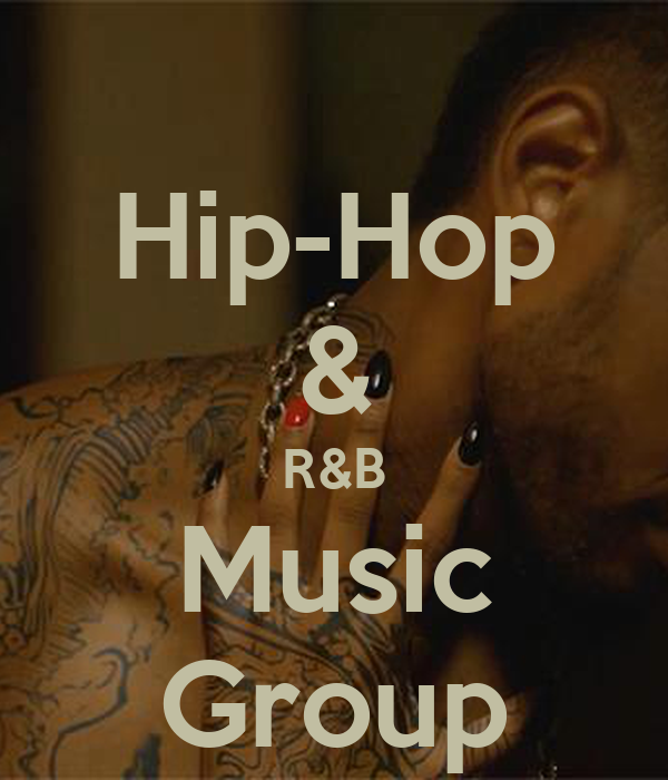 25 Hip Hop Song: Hip-Hop & R&B Music Group Poster