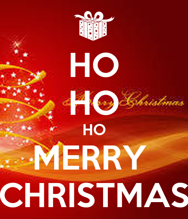 Merry Christmas Ho Ho Ho