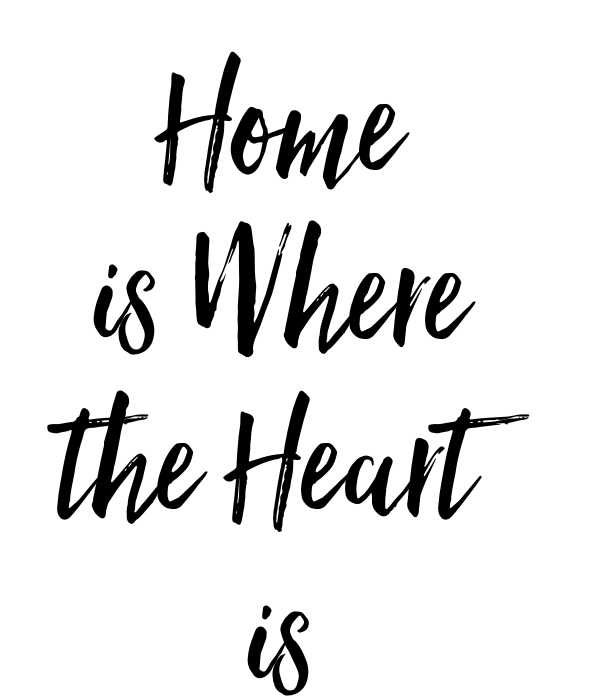 home is where the heart is poster maaadeleine keep calm o matic. Black Bedroom Furniture Sets. Home Design Ideas