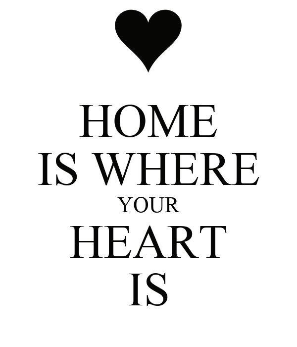 HOME IS WHERE YOUR HEART IS Poster | home | Keep Calm-o-Matic