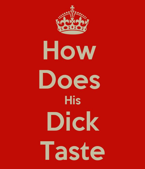 Dick Taste 94