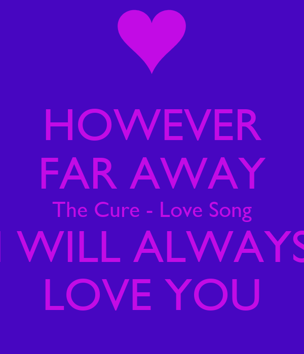 Songs about love far away