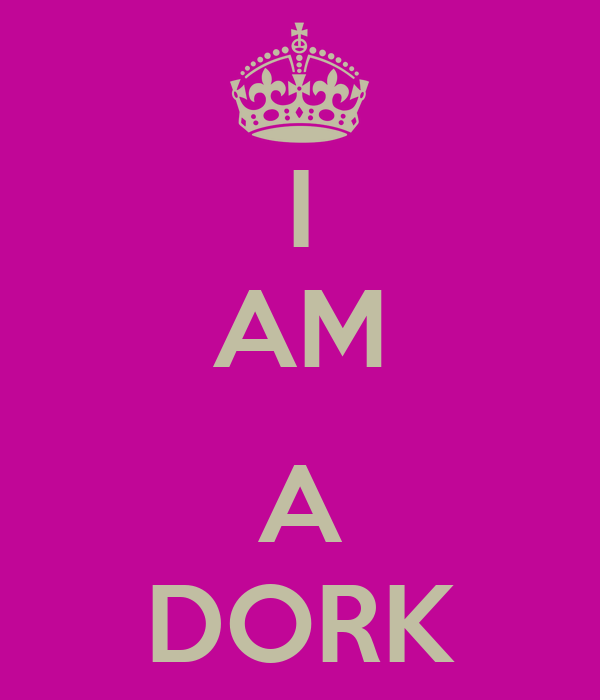 AM A DORK KEEP CALM AND CARRY ON Image Generator Brought To You