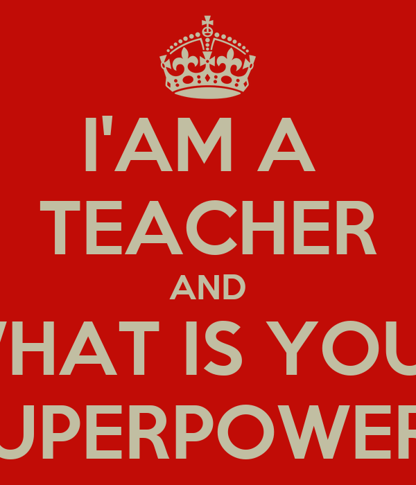 why am i a teacher Constructing a teaching persona is challenging it takes place over time and across experiences what persona underlies what you do as a teacher.