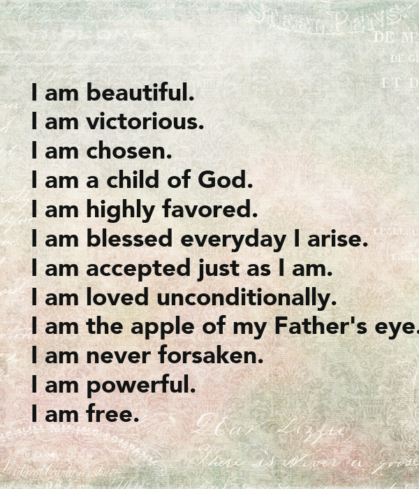 i am blessed and highly favored quotes - photo #7
