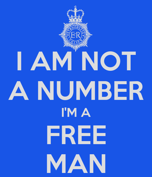 I am not a number i am a free man iron maiden lyrics blood