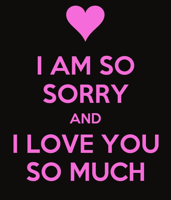 I Am Sorry I Love U Quotes: I Am So Sorry Quotes. QuotesGram