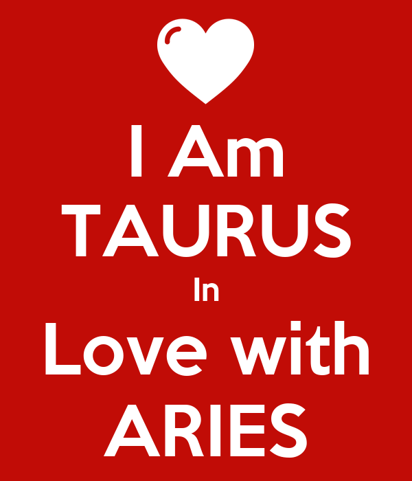 I Am TAURUS In Love with ARIES Poster | Sahar | Keep Calm-o