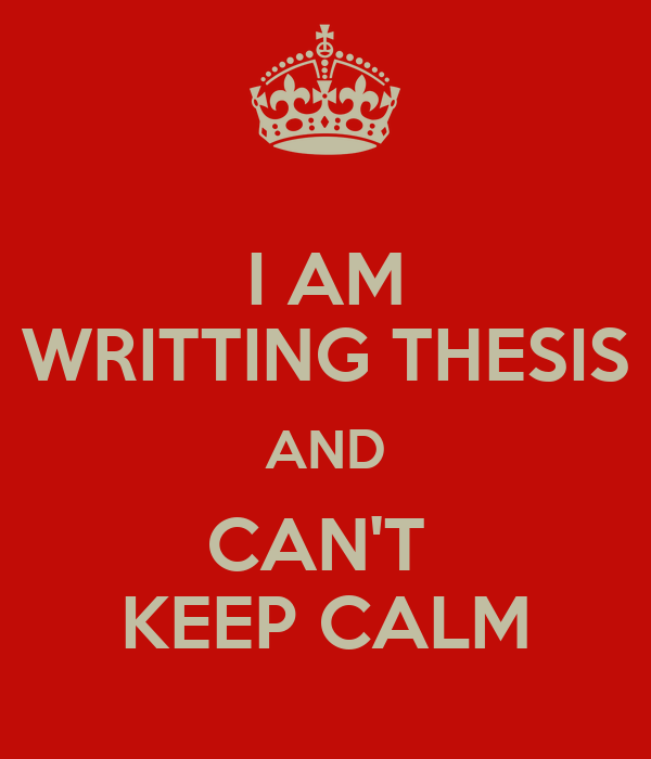 writting a thesis If you find yourself getting bogged down trying to zero in on your thesis statement,  start writing background or detail paragraphs then come back and work on.