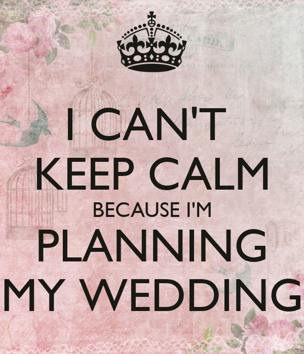i planned my wedding with giveaways