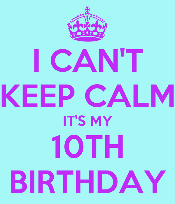 My 10th Birthday Essay Example - image 8