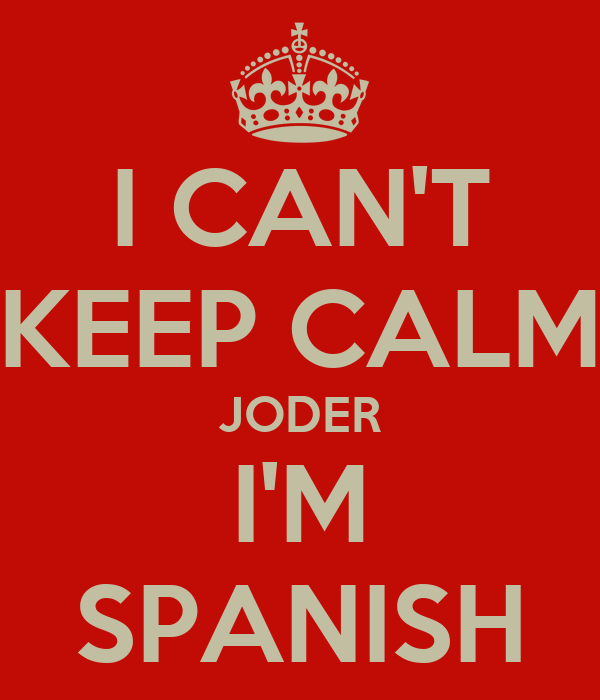 how to say joder in spanish