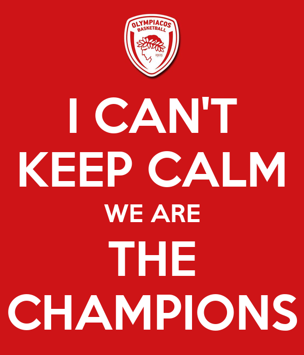 I CAN'T KEEP CALM WE ARE THE C...