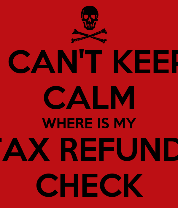 how to read a tax return check