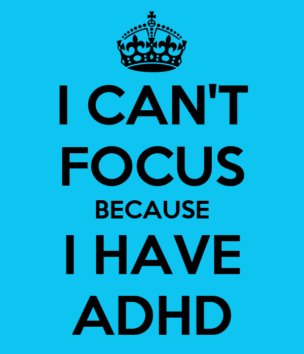 Adhd cant focus on homework