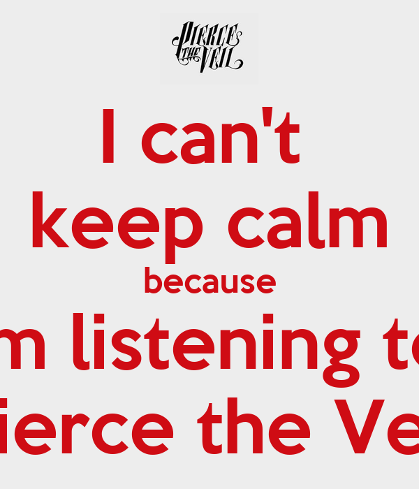 Keep calm and listen to pierce the veil hd walls find wallpapers
