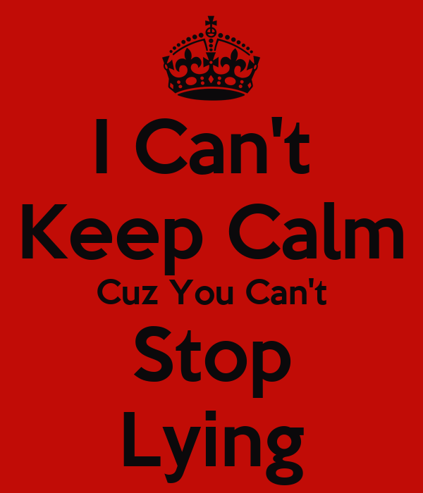 Teen cant stop lying