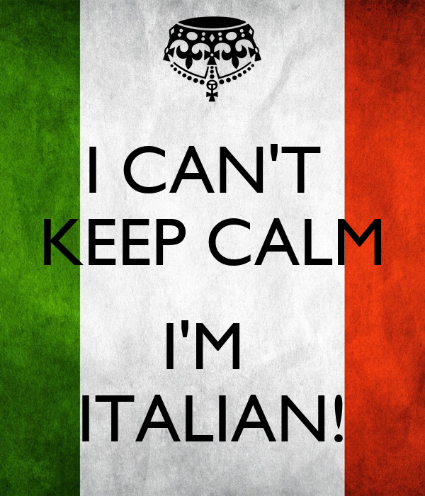 how to say in italian im from