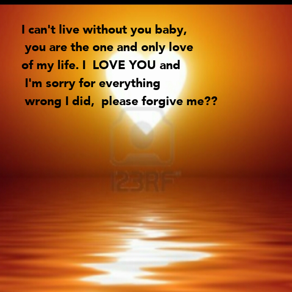 love without you: