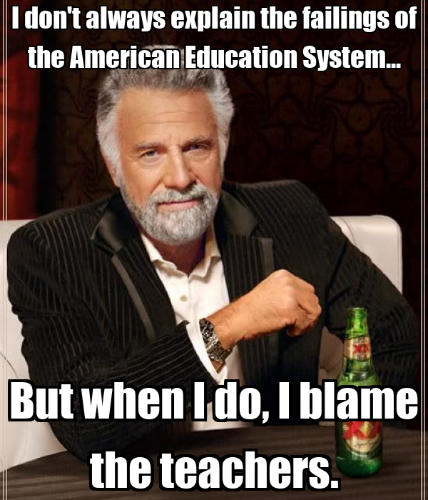 American education system explanation?