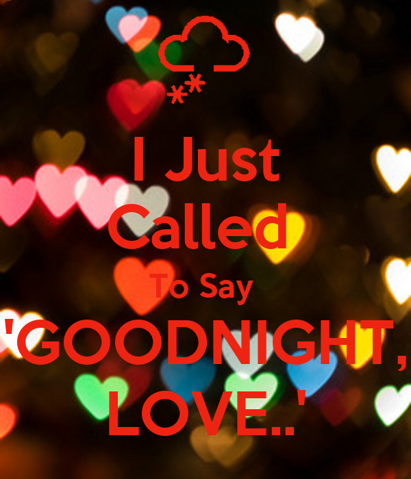 spanish how to say goodnight