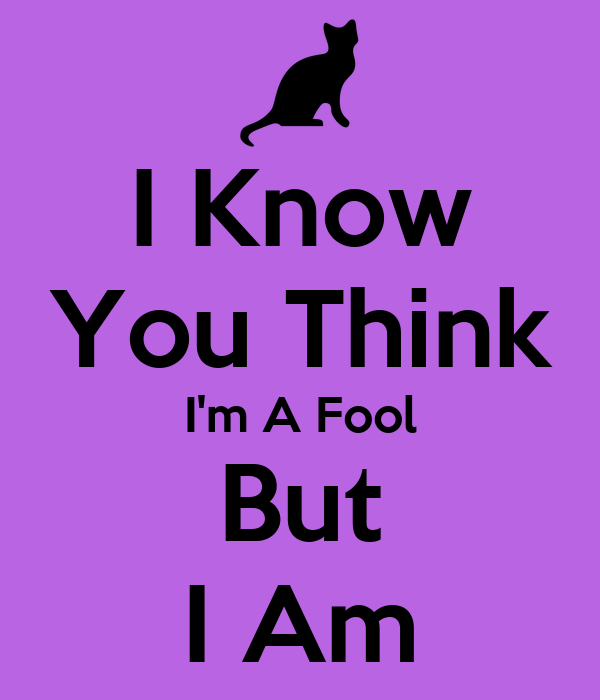 I Know You Think I'm A Fool But I Am Poster | Minnie ...