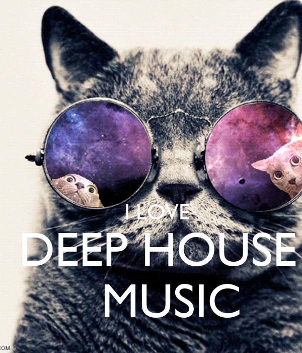 I love deep house music poster a keep calm o matic for 90s deep house