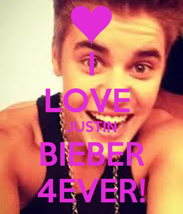 justin bieber love