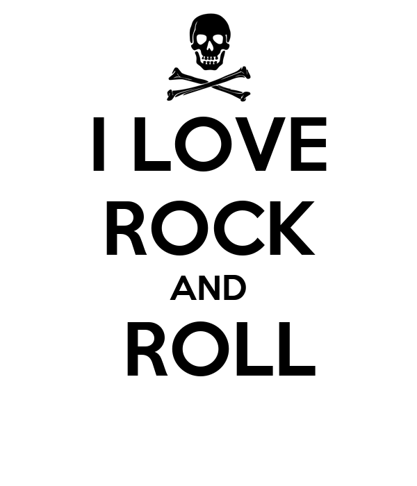 I LOVE ROCK AND ROLL Poster | cecydez | Keep Calm-o-Matic