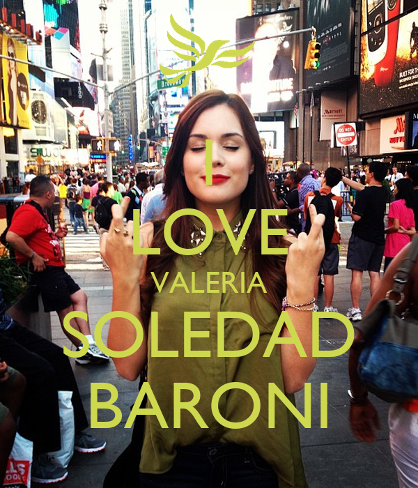 I Love Valeria Wallpapers : I LOVE VALERIA SOLEDAD BARONI - KEEP cALM AND cARRY ON ...