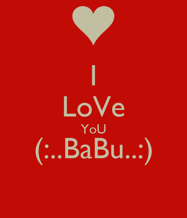 I Love You Babu Pictures Wallpaper Images