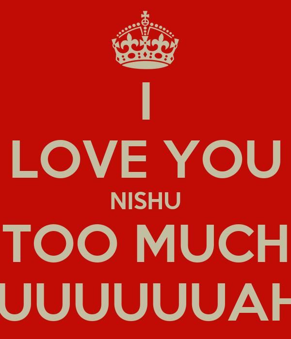 i love you nishu