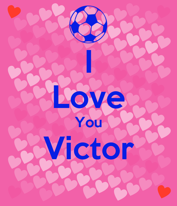 I Love You Victor Poster | Melissa - 170.1KB