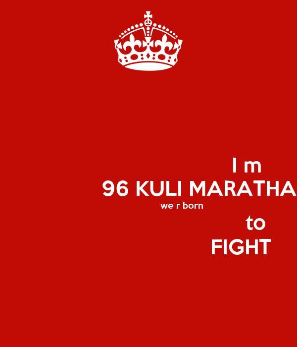96 kuli Having said this, would like life partner as income above rs 75,000 pm , preferably 96 kuli koknastha maratha , preferably the professional.