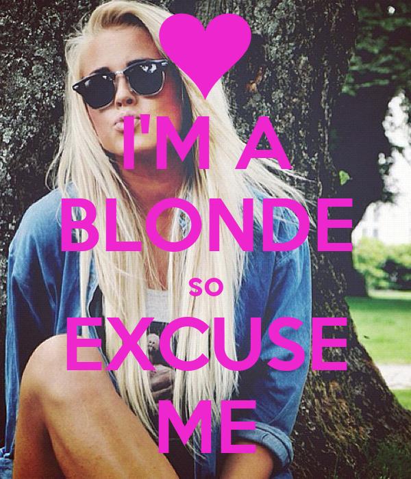 Im A Blonde 95