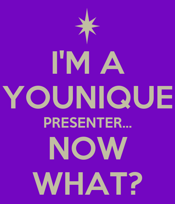 i m a younique presenter now what poster sarah keep calm o matic