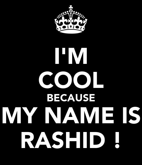 rashid name wallpaper