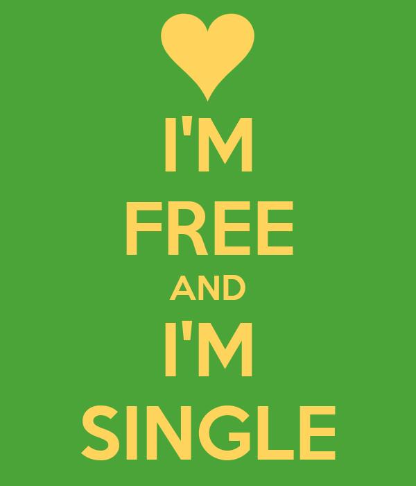 I'M FREE AND I'M SINGLE Poster | 666 | Keep Calm-o-Matic