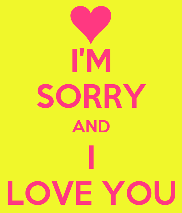 im sorry but i love you quotes - photo #6