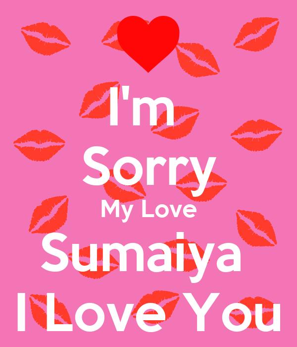 Wallpaper I Love You M : I M Sorry My Love Wallpapers - impremedia.net