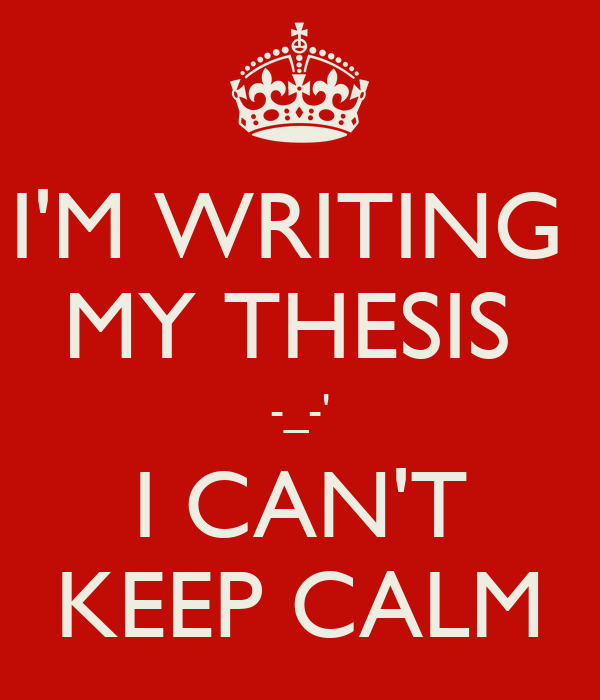 Who can do my thesis