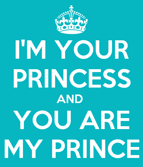 you are my lady and i am: