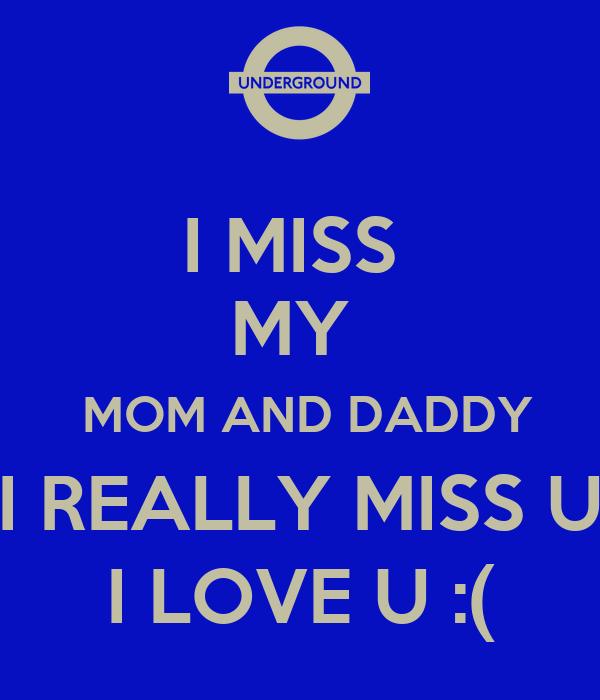 I miss u really