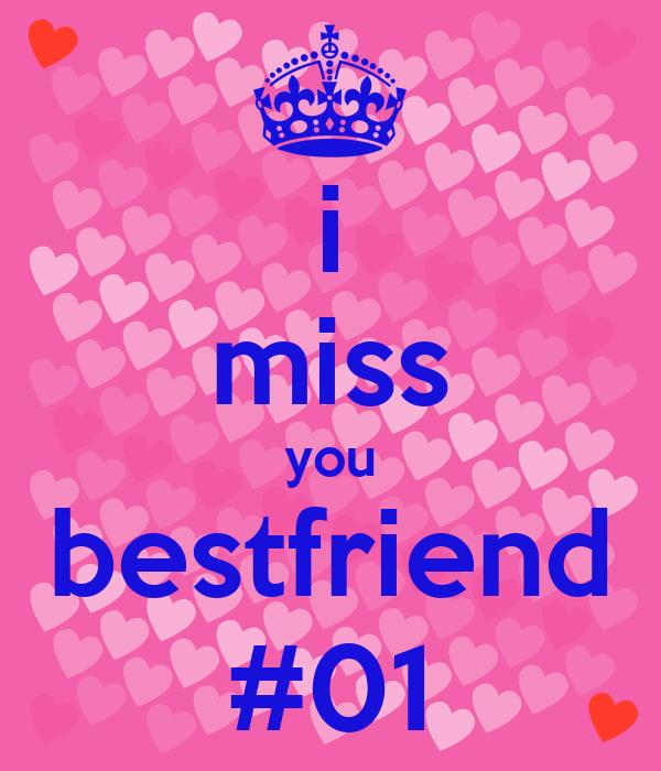 I Miss You Bestfriend 01 Poster Nadeshiko Keep Calm O Matic