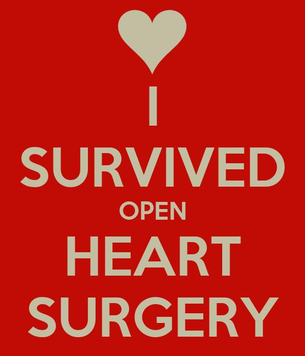 Heart Surgery Wallpaper i Survived Open Heart Surgery