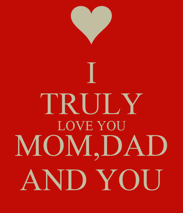 Wallpaper I Love You Mom : I Love My Mom And Dad Wallpapers www.imgkid.com - The Image Kid Has It!