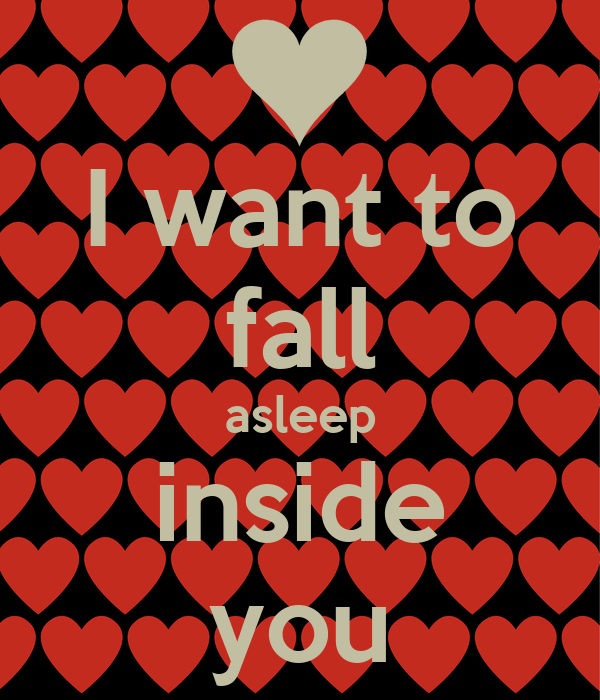 i want to fall asleep inside you poster nathan keep